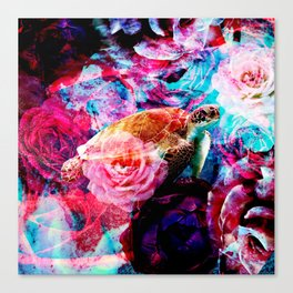 Sea flower Canvas Print