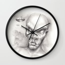 And the whole world shall see Wall Clock