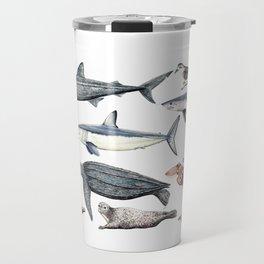 Marine wildlife Travel Mug