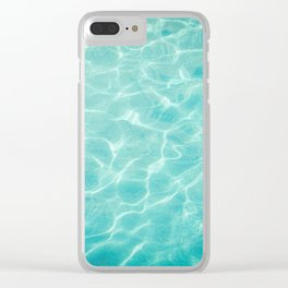 Palm Springs Summer Clear iPhone Case