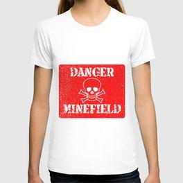 Danger Minefield T-shirt