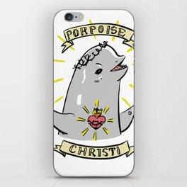 Porpoise Christi iPhone Skin
