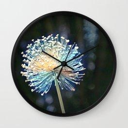Raceme Flower Wall Clock