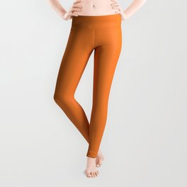 Tangerine - Solid Color Collection Leggings