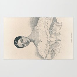 Portrait of Ballerina Rug