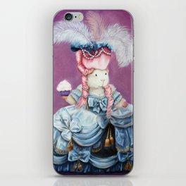 Guinea Pig Marie Antoinette - Let Them Eat Cake iPhone Skin
