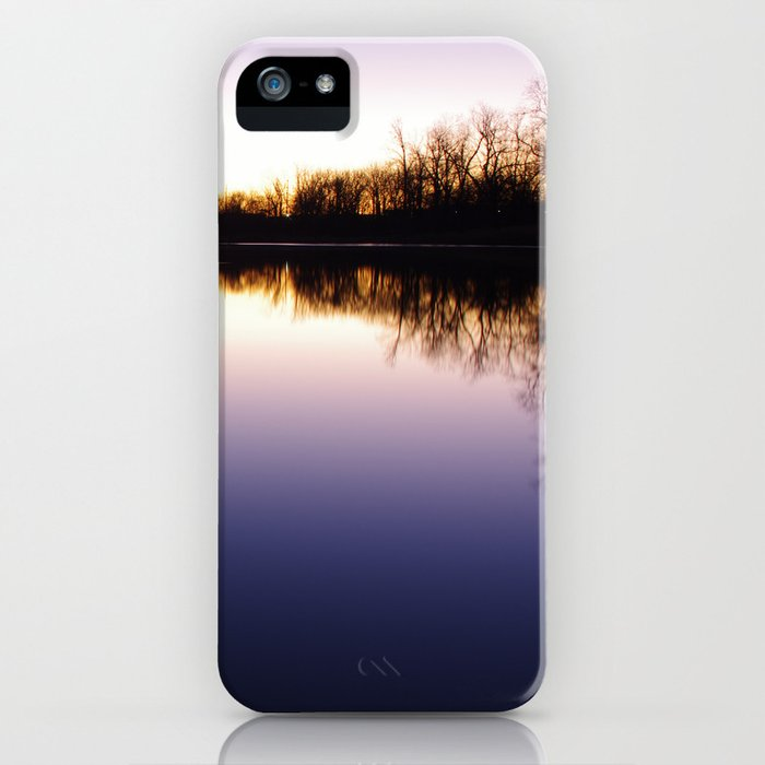 Lakeside Sunrise iPhone Case