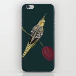 Pearl Cockatiel iPhone Skin