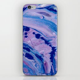 Purple Dolphins iPhone Skin