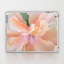 PEACH HIBISCUS Laptop & iPad Skin