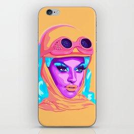 QUEEN MIZ CRACKER iPhone Skin