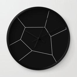 MNML BRKN B&W Wall Clock
