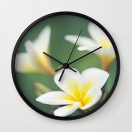 in the happy garden Wall Clock