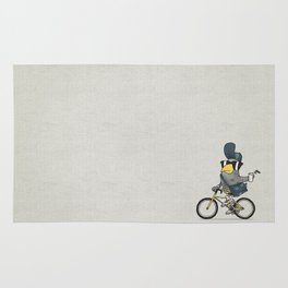 Courier Pigeon Rug