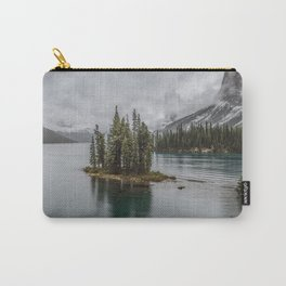 Landscape Maligne Lake Photography | Alberta | Canada Carry-All Pouch