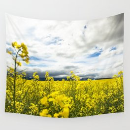 Fields of yellow - Floral Photography #Society6 Wall Tapestry