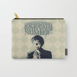High-Functioning Sociopath - SHERLOCK Carry-All Pouch