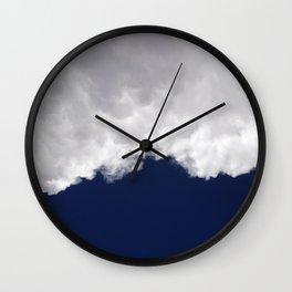 Rumble Blue Wall Clock