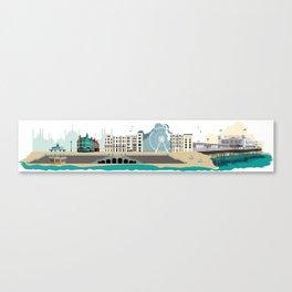 Brighton England Art Print Canvas Print