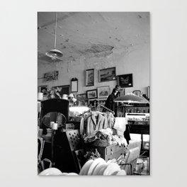 Old Curiosity Shoppe, Suisun City, CA - inside  Canvas Print