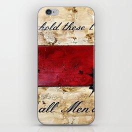 1776 Bennington Flag iPhone Skin