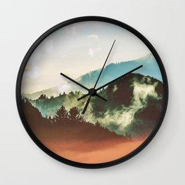 Mighty Mountain #society6 #decor #buyart Wall Clock