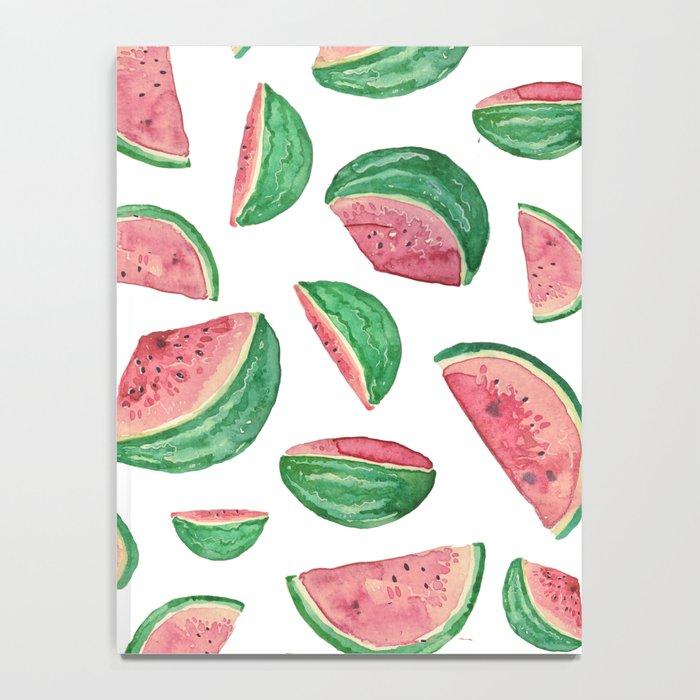 watermelon pattern Notebook