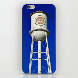 Lucky Strike Water Tower iPhone Skin