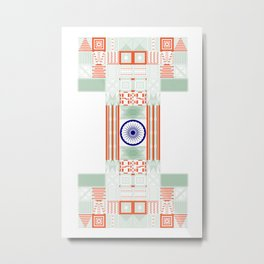 Make in India Metal Print
