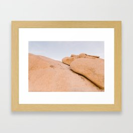 Sunrise at Indian Cove 001 Framed Art Print