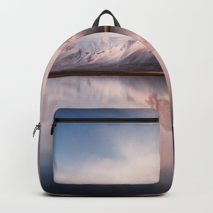 Magic mountains #pastel Backpack