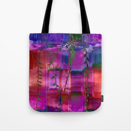 Infused colors Tote Bag