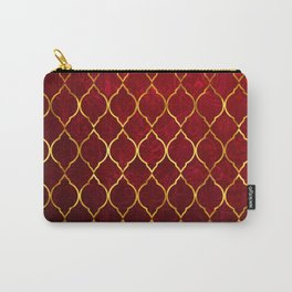 Moroccan Tile islamic pattern #society6 #decor #buyart #artprint Carry-All Pouch