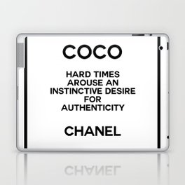 coco quote no. 16 Laptop & iPad Skin
