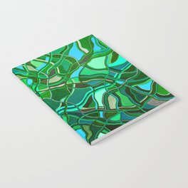 Abstract #8 - V - Jungle Book Notebook