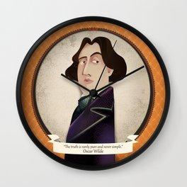 Oscar Wilde said... Wall Clock