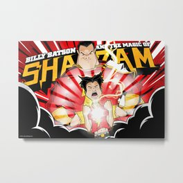 Shazam! Metal Print