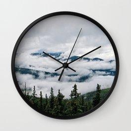 Cloud Flow Wall Clock