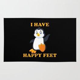 I Have Happy Feet Rug