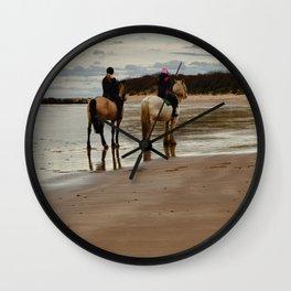 Seacliff Beach Wall Clock