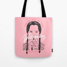 Wednesday Addams Eyes Tote Bag