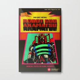 Robot God Akamatsu toybox art! Metal Print