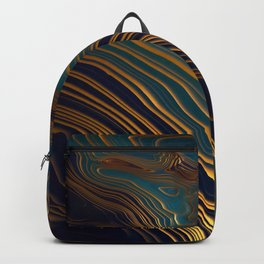 Peacock Ocean Backpack