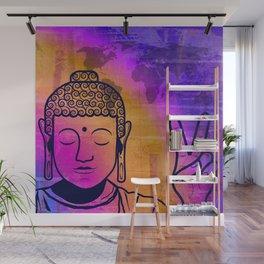 Buddha World Peace Wall Mural
