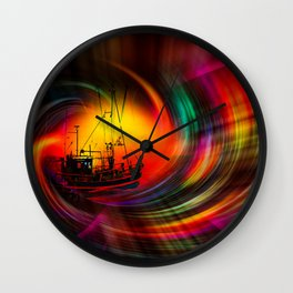 Time Tunnel 3 Wall Clock