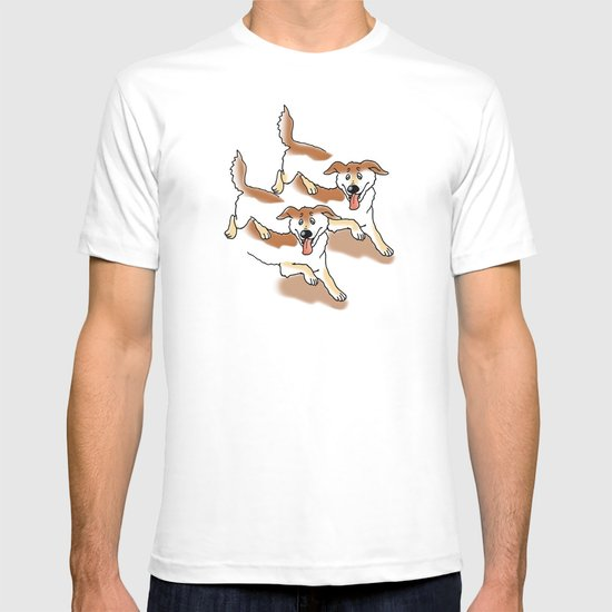 UNSTABLE HAPPY DOGS T-shirt