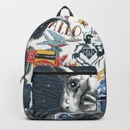 Tattooed kangaroo Backpack