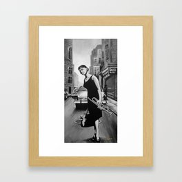 One moment Framed Art Print