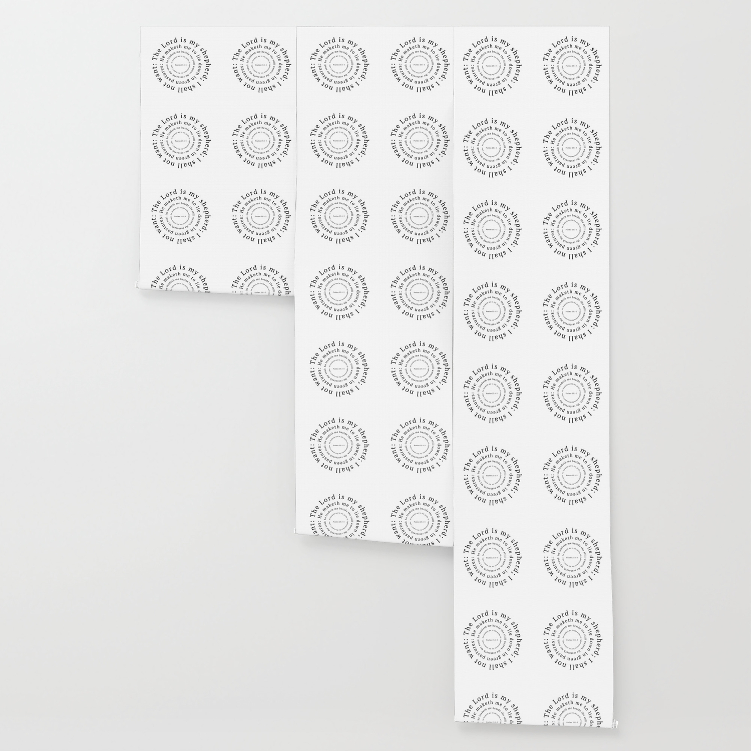 Psalms 23 The Lord Is My Shepherd Wallpaper By Faithtotes Society6