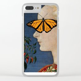Under the Butterfly Clear iPhone Case